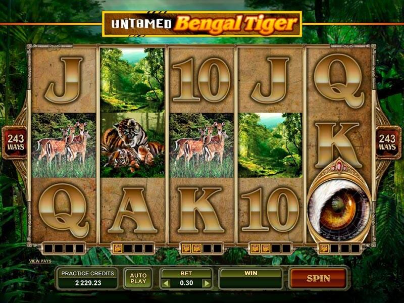 игровой автомат tiger